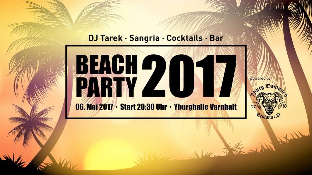 Beachparty 2017